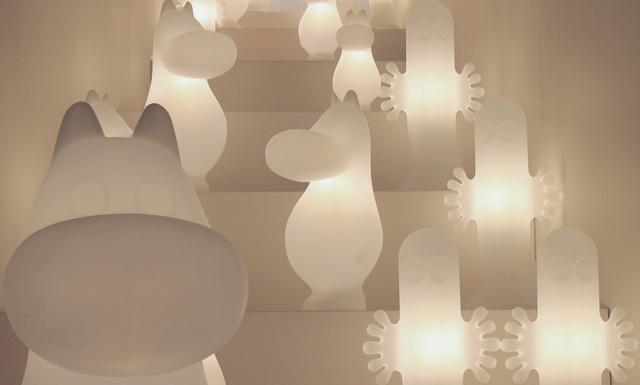 Muminkowe lampy