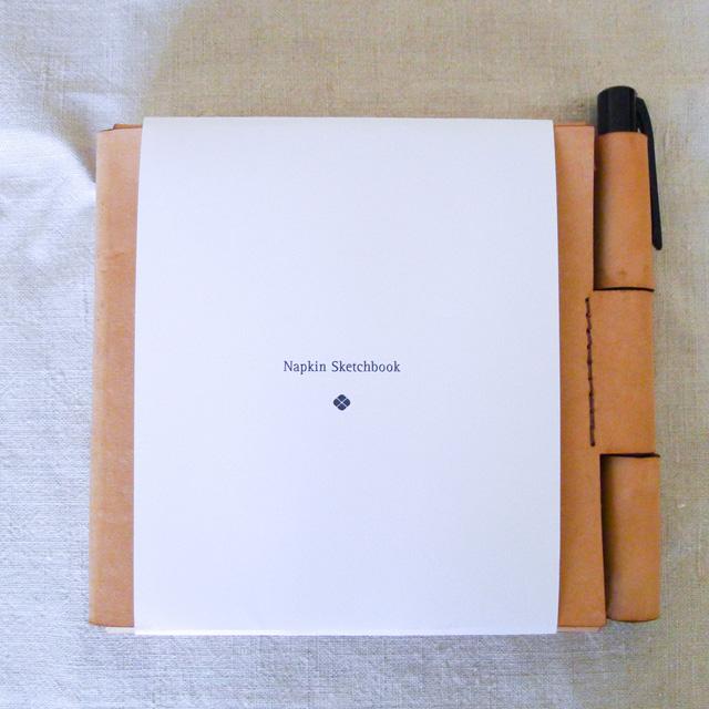 Napkin Sketchbook - noś przy sobie wszystkie pomysły