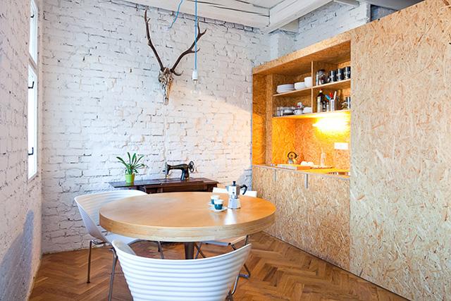 Biuro w mieszkaniu for Tablero de decoracion interior